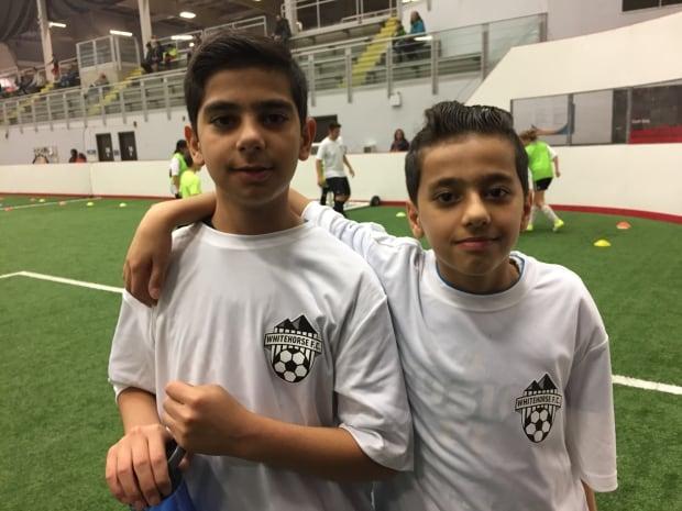 Brothers Muhammed and Sadik Ahmet