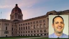 CBC's Adam Hunter at the legislature