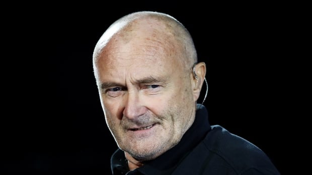 Phil Collins is being kept under observation in a London hospital after suffering a fall that left him with a severe gash near his eye that required stitches.