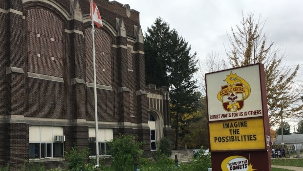 The province has announced funding for a replacement for Catholic Central.