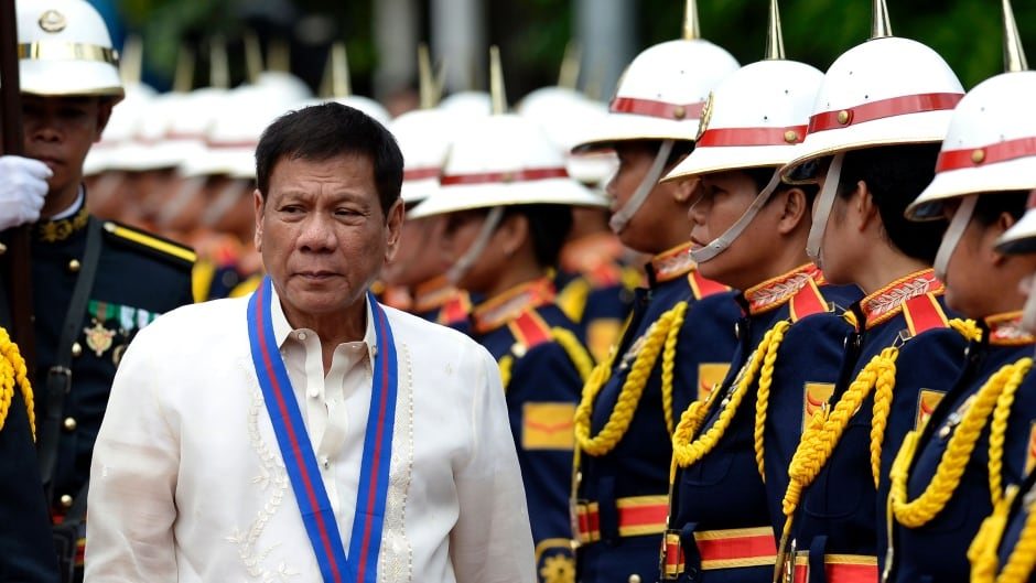"""Critics are blaming Philippine President Rodrigo Duterte for the surge of killings because he has repeatedly called for the """"slaughter"""" of drug dealers without regard for rule of law."""