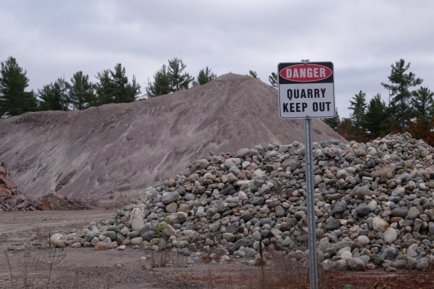 Dokis First Nation quarry