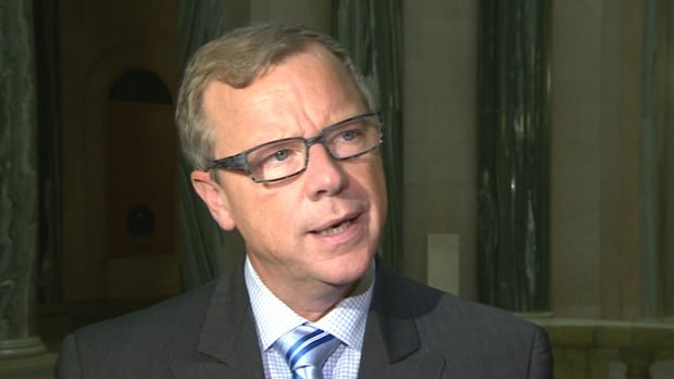 Brad Wall said he's not considering changes to Saskatchewan's political donation rules.