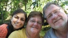 Rebecca, Davina and Dan Dixon