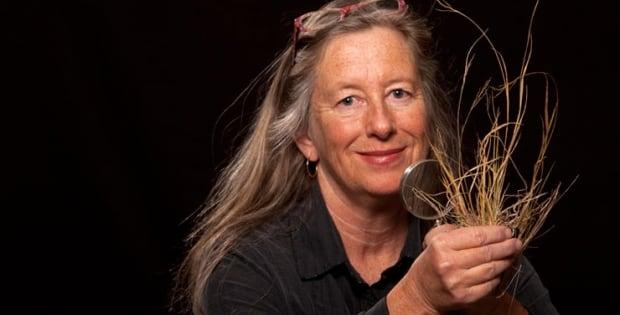 Botanist Marian Munro