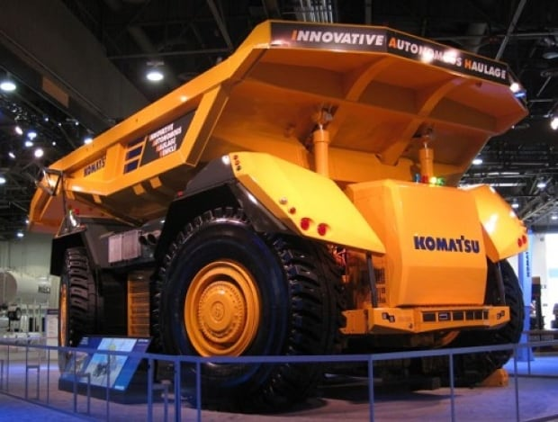 Autonomous Vehicles on mine sites in Australia are now being tested in alberta