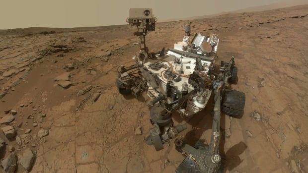 This self-portrait of NASA's Mars Curiosity rover is shown in this NASA handout composite image released May 30, 2013.