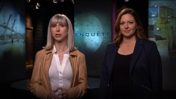Isabelle Richer and Marie-Maude Denis, hosts of Radio-Canada's investigative program Enquête, both say their phones were tracked by Quebec provincial police.