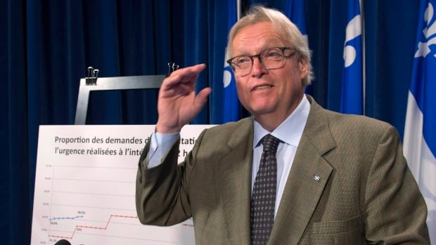 Quebec Health Minister Gaétan Barrette says he won't provide extra funding to the McGill University Health Centre to cover its budget shortfall.