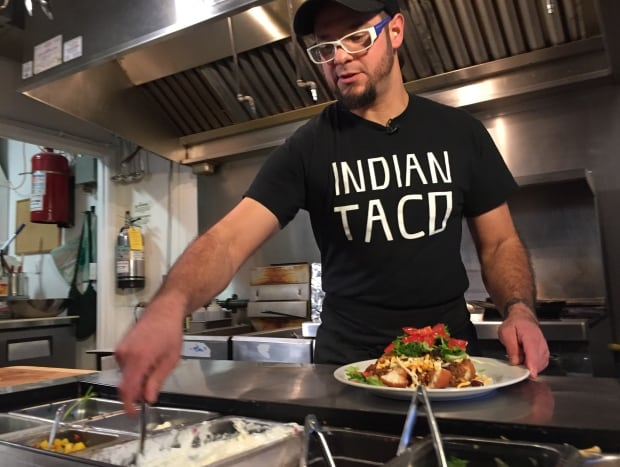 Shawn Adler Indian Taco