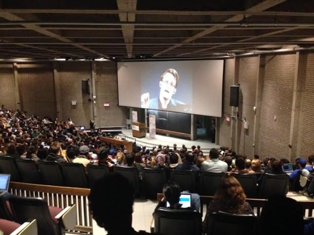 Edward Snowden McGill talk