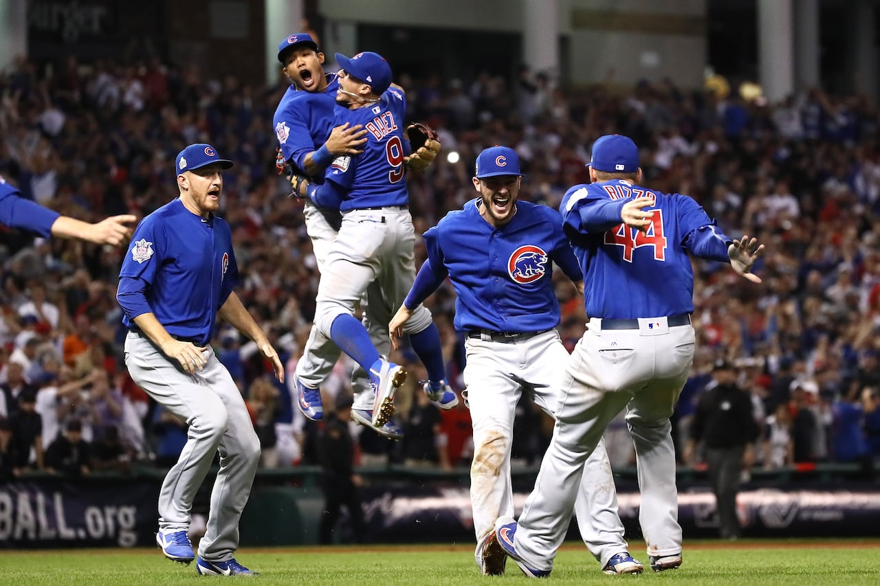5f14d06647e Chicago Cubs end century of losing with World Series championship ...