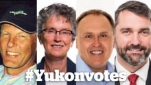 Yukon party leaders