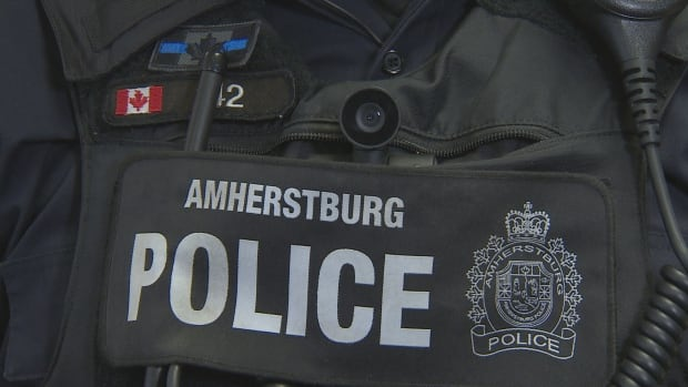 Amherstburg, Ontario, which has just 16 front-line officers, is the first Canadian city to equip their officers with body-worn cameras.