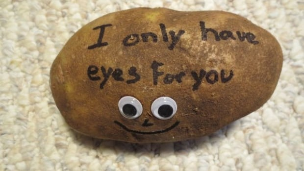 TaterGrams lets customers send special messages through the mails with personalized potatos.