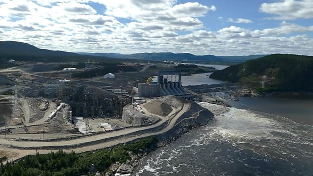 The Muskrat Falls hydroelectric project in Labrador.