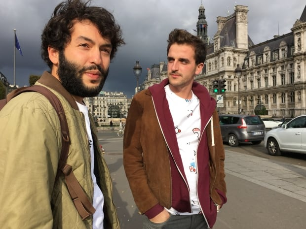 Léo Bigiaoui and Maxime Baudin