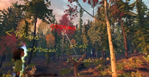 Virtual Reality Cree Syllabics 3