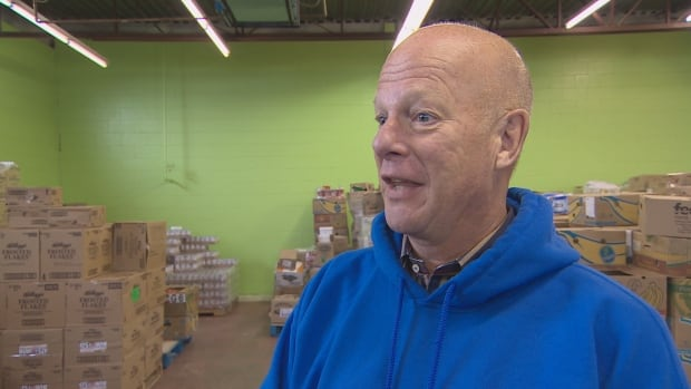 Feed Nova Scotia executive director Nick Jennery is trying to save food grocery stores can't sell.