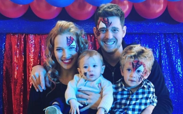 Michael Bublé and family