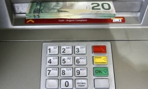 CIBC bank machine