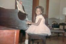 Young Sharon Washington
