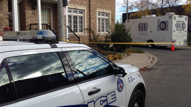 The province's Special Investigations Unit is probing the death of a man after police were called to the St. Clair Avenue and Old Weston Road area for reports of a person with a knife Friday afternoon.