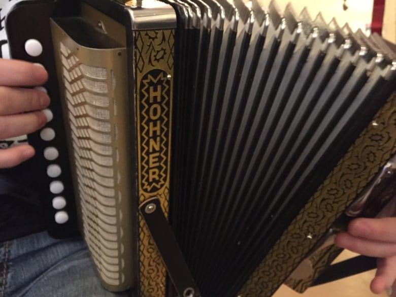 A major stop: Hohner accordion, famous among Newfoundland