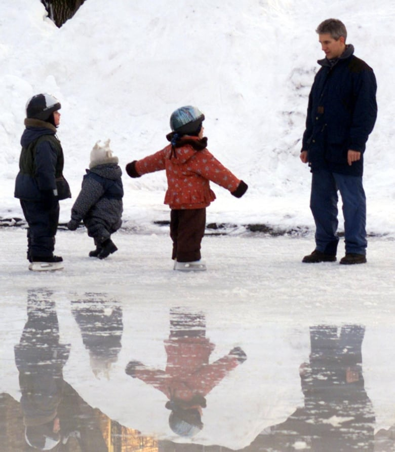 Cold Temperatures Will Help Keep The Rink Solid, But You