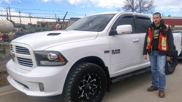 "Eric LaPlante, 40, says ""everything is wrong"" with his 2013 Dodge Ram 1500, which he purchased from the Gallery of Fine Cars in Calgary."