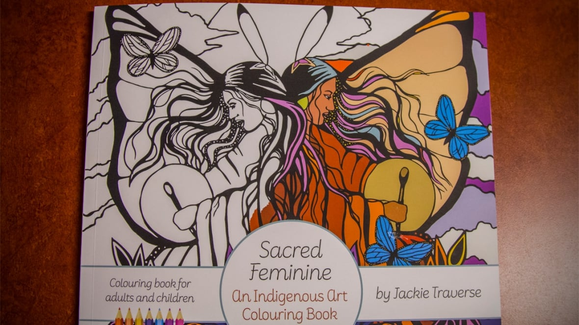 Sacred Feminine Indigenous Art Colouring Book Celebrates The Power Of Women