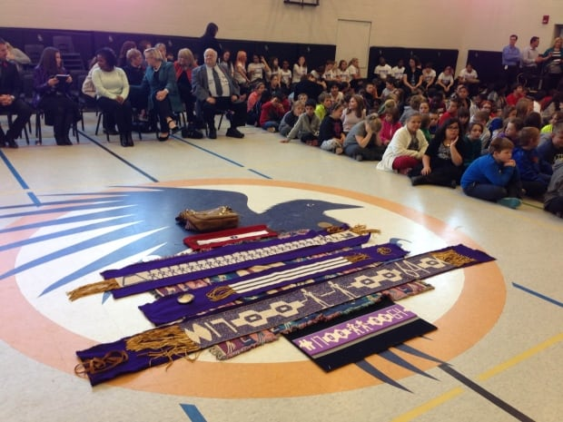 David Bouchard Public School in Oshawa - Treaties Recognition Week