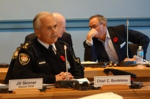 Chief Bordeleau tables draft 2017 budget