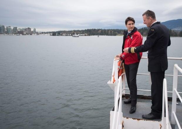 Trudeau Coast Guard 20161107