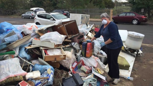 Anna Mae Muise lost almost everything she owned in the Thanksgiving Day flood.
