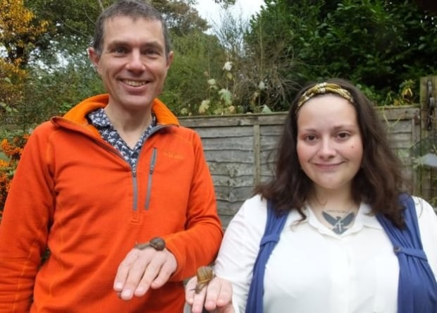 Angus Davison and Jade Melton
