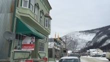 Sandy Silver HQ in Dawson City