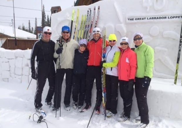 Glen Bond ski camp at Menihek Nordic Ski Club