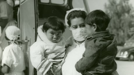 Inuit patients arrive in Hamilton to be treated for tuberculosis