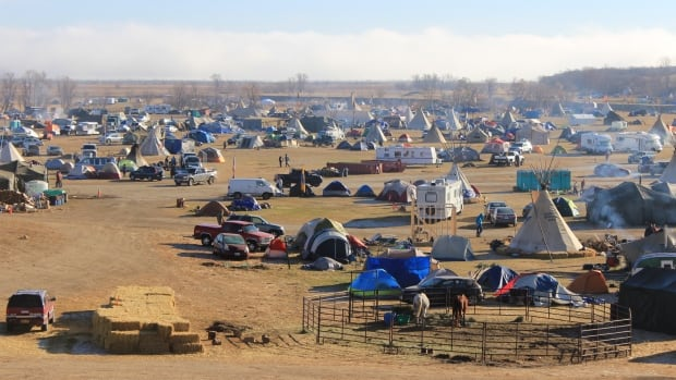 Oceti Sakowin, the largest camp near Standing Rock, N.D., has been ordered closed by the U.S. Army Corp of Engineers.