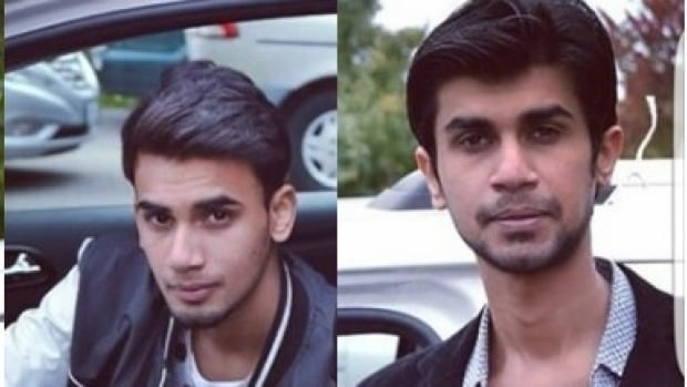 Hamza Khan and Sharukh Khan went missing last Friday. Their bodies were found on Tuesday in Mississauga pond, according to the Khan family.