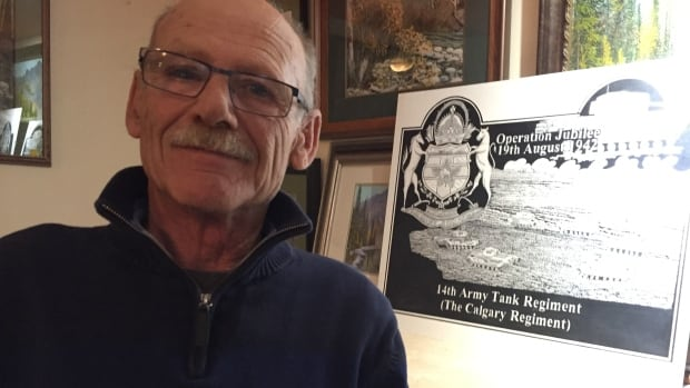 Cranbrook artist Richard Hessler is creating a memorial to honor fallen Canadian soldiers in time for the 75th anniversary of the raide on Dieppe, France during the Second World War.