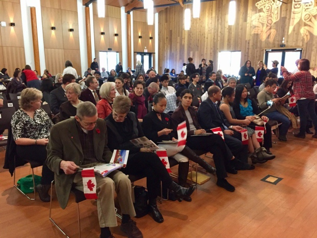 Citizenship ceremony Whitehorse