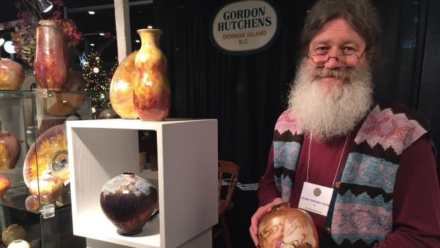 Potter Gordon Hutchens has been involved in the Circle Craft market for more than 40 years.