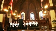 Confederation Centre Youth Chorus with Don Fraser