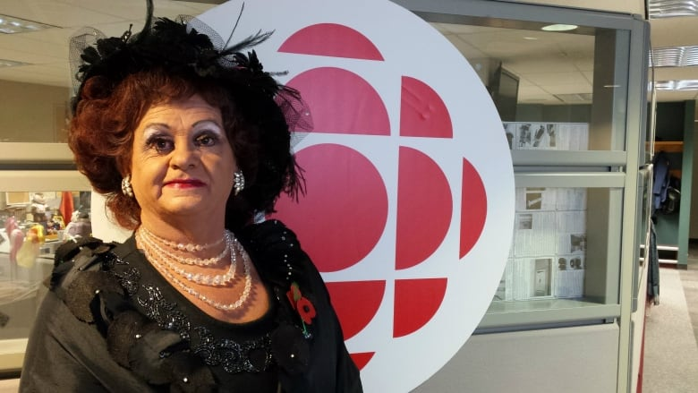 Dressed as his persona, Mz. Rhonda, Ron Eberly will lay a wreath at the  cenotaph in Central Memorial Park during Remembrance Day ceremonies to  honour gay ...