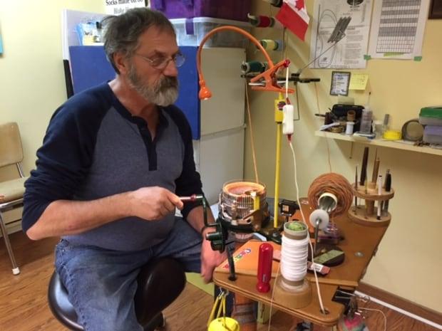 Blake Harris Circular Sock Machine