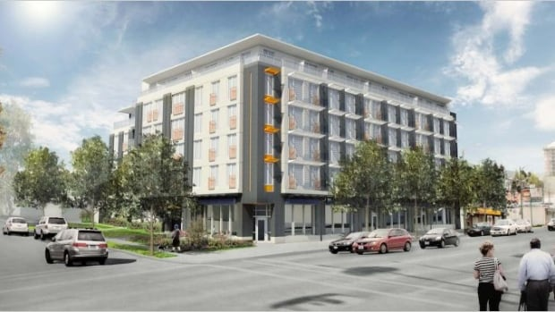 When finished, The Heights development on East Hastings and Skeena Street hopes to meet 'passive house' certification requirements for energy efficient, low emission buildings
