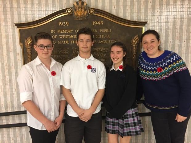 Westmount High Memorial Project