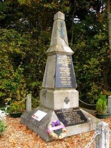 McCaul monument